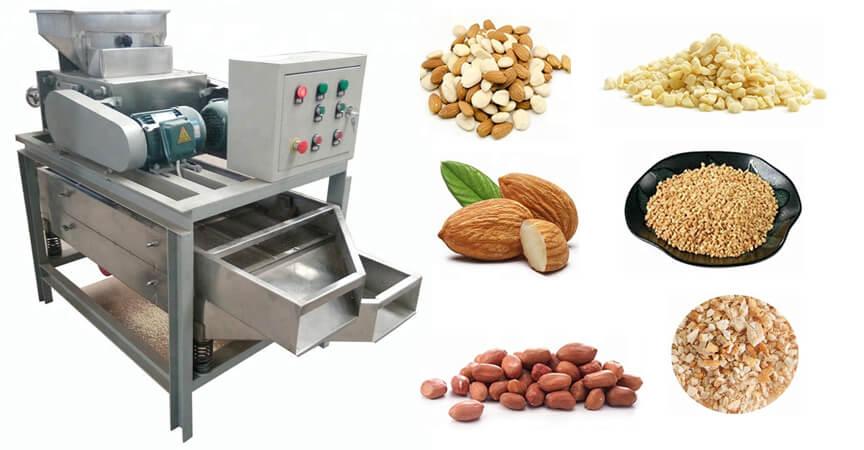 nut kernels crushing machine