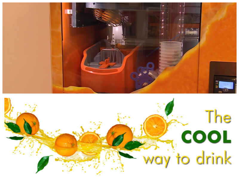 orange juice vending business