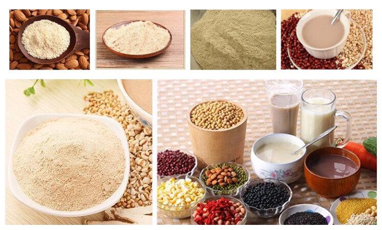 peanut crushing machine applications for making nut bean powder