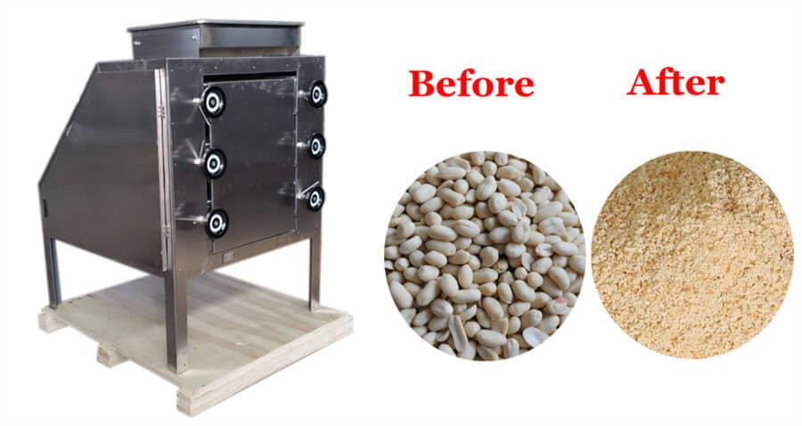 peanut powder making machine