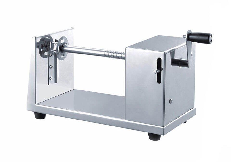 potato twister machine