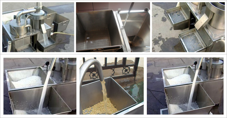 rice cleaning machine application