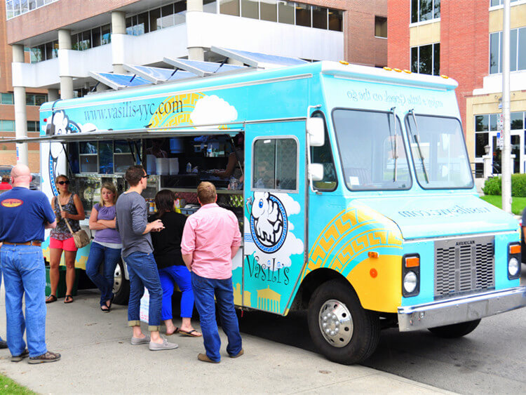 right site for mobile food catering business