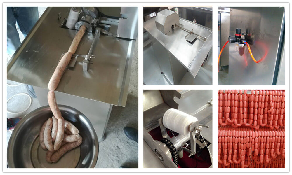 sausage linker machine