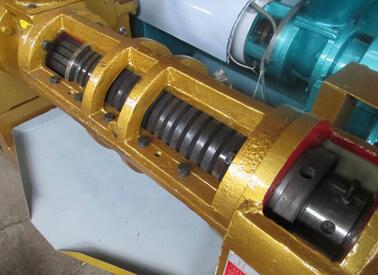 screw of small oil press