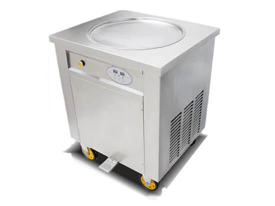 single pan fried ice cream machine for sale