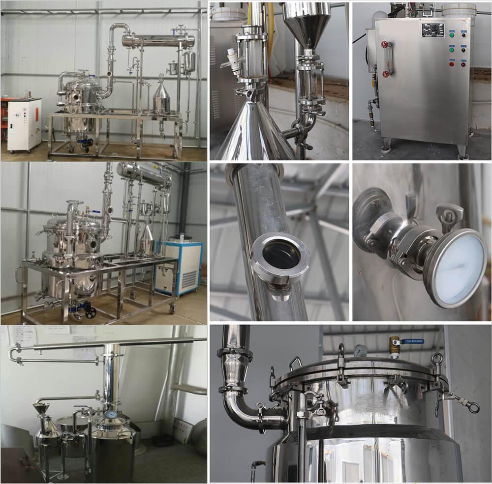 small essential oil distillation machine detials show
