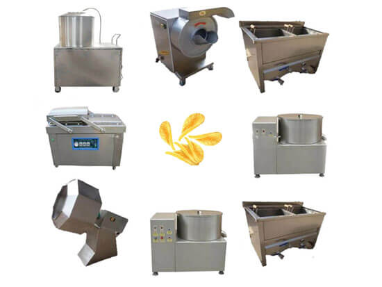 small potato crisp making equipment