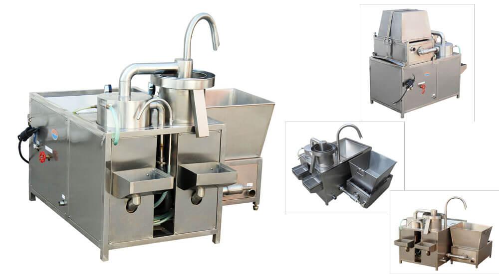 stainless steel rice washer machine