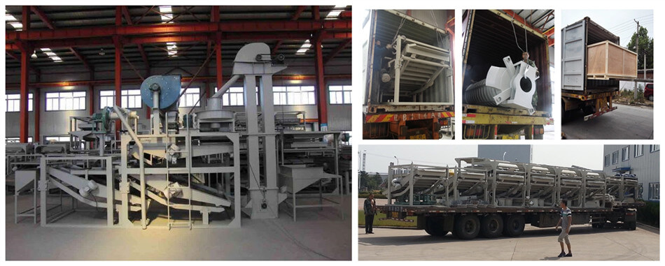 sunflower seeds dehulling equipment