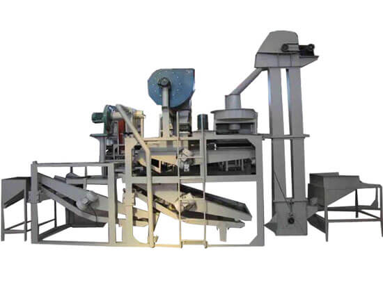 sunflower seeds shell removing machine