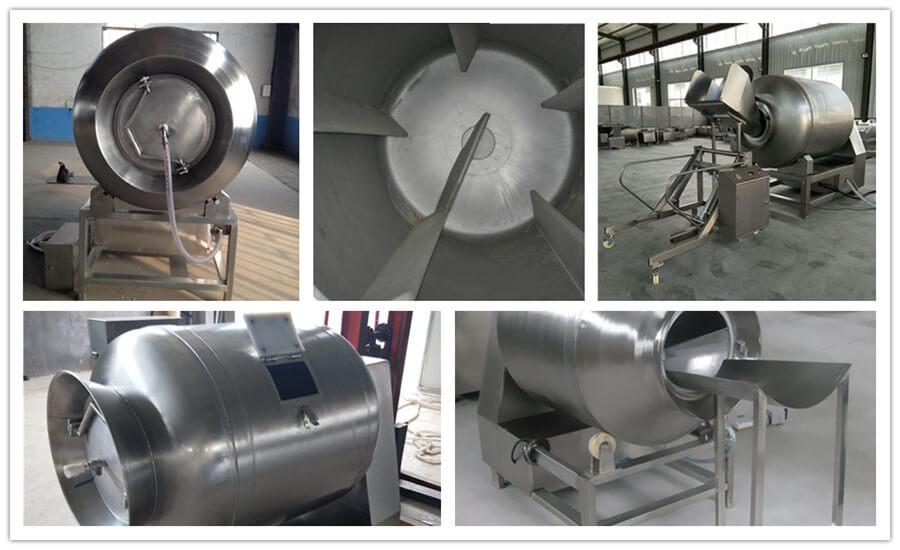 vacuum meat tumbler structure