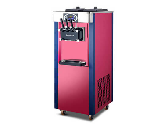vertical soft ice cream maker for sale